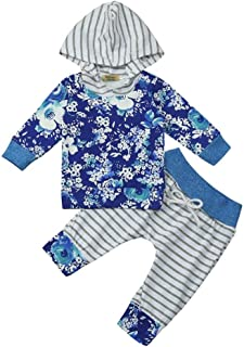 zeyan97 Gentleman Outfits Baby Boys 2 Pieces Bowtie Shirts Suspenders Pants Best Birthday Gifts