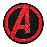 Marvel Avengers Logo IronOn Patch Superhero Team DIY Costume Accessory Applique