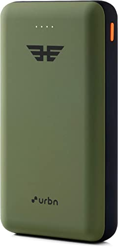 URBN 20000 Mah Li Polymer Ultra Compact Power Bank With 12W Fast Charge Camo