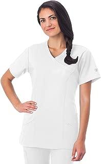 Fundamentals 14371 Women's Modern Wrap 5-Pocket Scrub Top