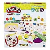 """Play-Doh, Gioco """"Shape And Learn"""", Modella e impara Colori e Forme (Versione Inglese)"""