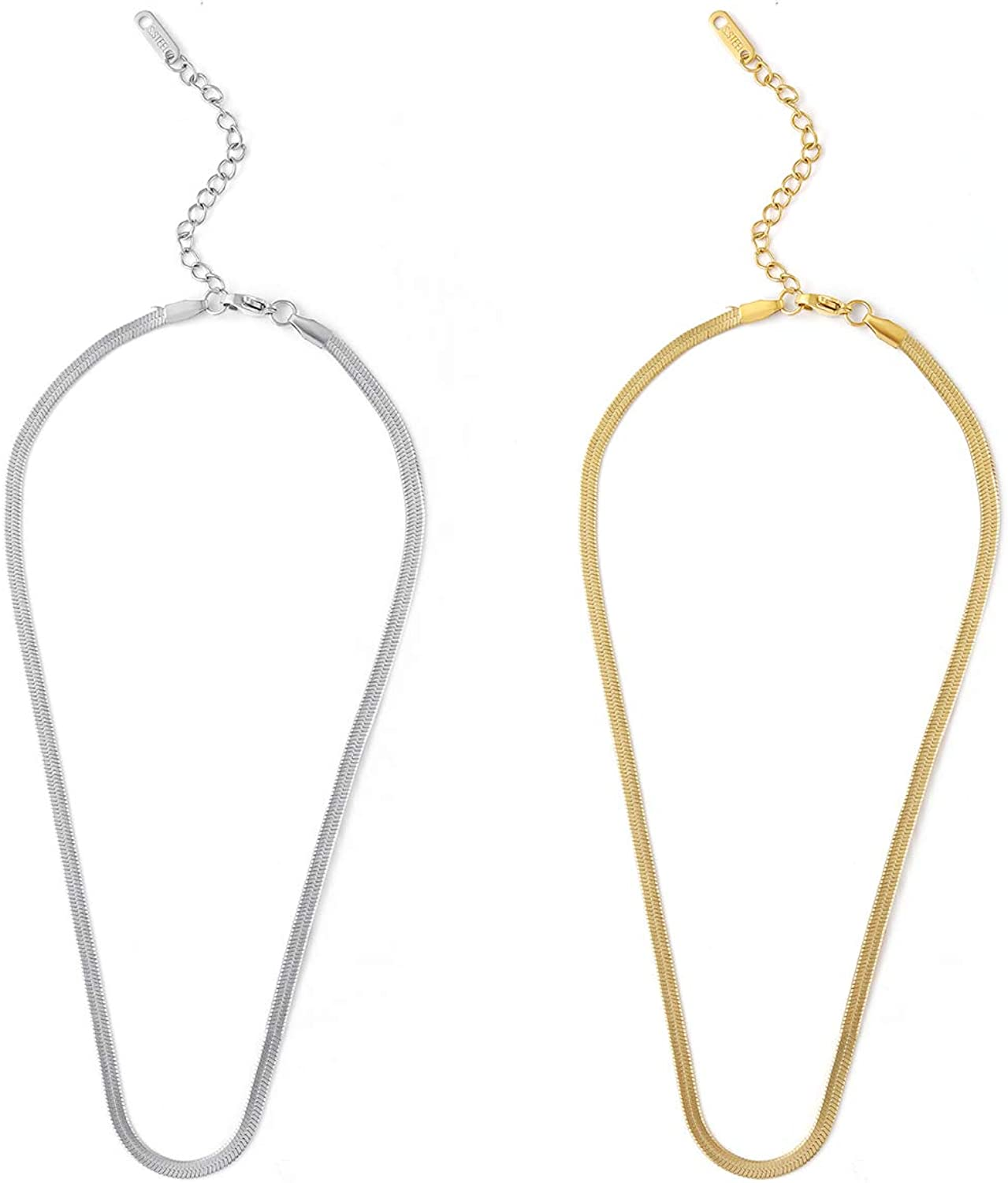 14K Gold Plated Personalized Popular products Safety Pin Necklace Popular standard