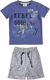 YATSI - Conjunto para niño con Camiseta y pantalón niños