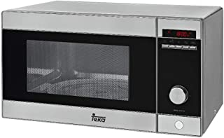 Teka MWE 230 G Microondas con grill, 1250 W, 23 litros, Acero