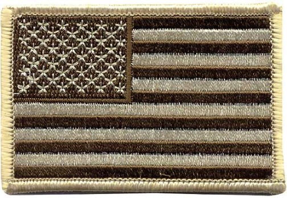 1888 Desrt Tan U.S. Flag Patch 2 X 3