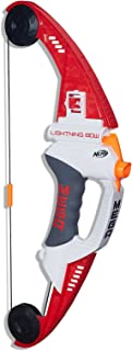 NERF MEGA - Lightning Bow inc 4 official Darts - Kids Toys & Outdoor games - Ages 8+