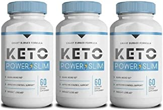 Keto Power Slim 180 Capsules – Fat Burner – Free Fast DELIVERY Estimated Price : £ 118,95
