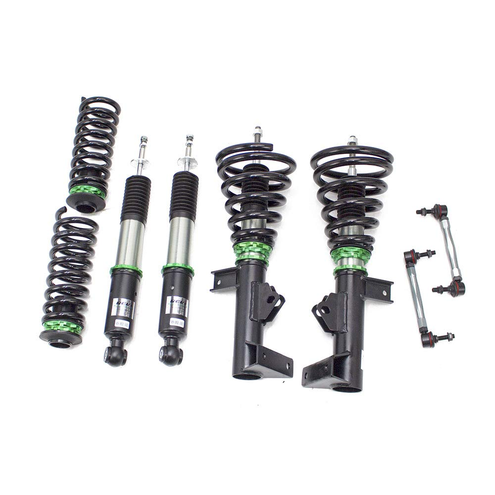 W203 32 Damping Level Adjustment 2001-07 Hyper-Street II Coilover Kit w// 32-Way Damping Force Adjustment Lowering Kit by Rev9 R9-HS2-102/_1 made for Mercedes-Benz C-Class Sedan RWD