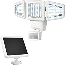 SOLAR MOTION ACTIVATED LIGHT.150 LED TRIPLE HEAD. SUNFORCE by Sun Force