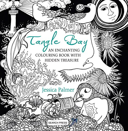 Tangle Bay: An Enchanting Colouring Book With Hidden Treasure