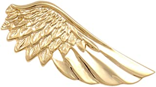 Jewelry Gold Plated Unique Angel Wing Tie Clip, 2 Inches