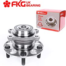 FKG 512256 Rear Wheel Bearing Hub Assembly For 2006-2010 Acura CSX, 2006-2011 Honda Civic (ABS Models, EX & Si Models Only, Does Not Fit Hybrid Models), 5 Lugs