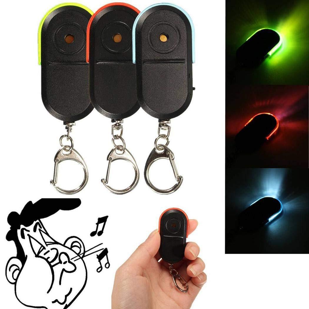 Fandazzie Key Finder Keychain Anti-Lost Alarm Item Finder with LED Light Cash Boxes