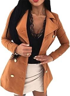 Women Open Front Blazer Work Office Business Jacket Coat Long Sleeve Outwears