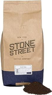 Stone Street Coffee Cold Brew Reserve Colombian Single Origin Coarsely Ground Coffee - 5 lb. Bag - Dark Roast