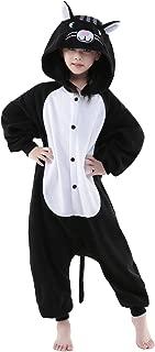 Halloween Kids Black Cat Animal Onesie Cosplay Costume