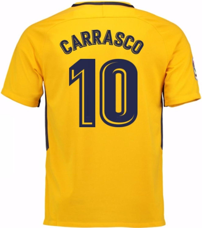 2017-18 Atletico Madrid Away Shirt (Carrasco 10) - Kids
