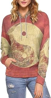 InterestPrint Custom Stylish Cool Design Women's Pullover Hoodies Sweatshirt