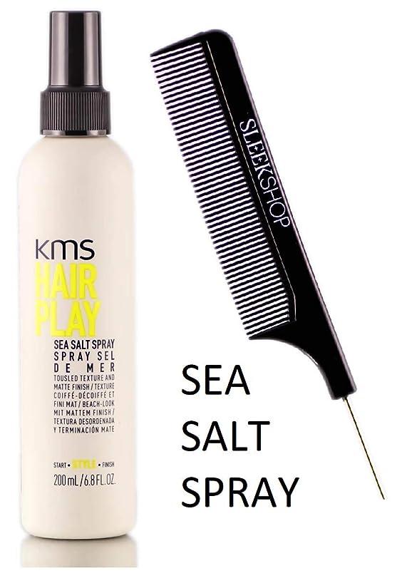嵐の人ラフKMS 髪がSEA SALTスプレーを再生し、風になびく髪テクスチャ&マット仕上げ(STYLISTのKIT) 6.8オンス/ 200ミリリットル