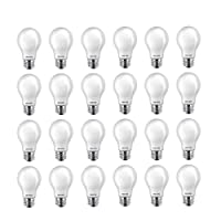 Deals on 24-Pk Philips LED A19 Light Bulb, Non-Dimmable 800 Lumen Used