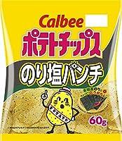 カルビー ポテトチップス のり塩パンチ 60g×12袋