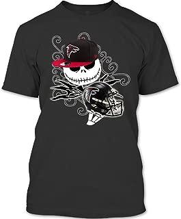 Atlanta Falcons Football Halloween T Shirt, The Nightmare Before Christmas T Shirt