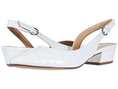 Naturalizer Banks (White Croco Print Leather) Women