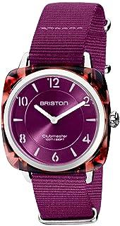 Briston - Clubmaster Chic Acétate - HM écaille Rouge Cadran Cardinal - Femme