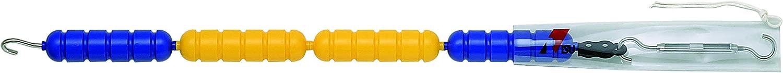 RISU KOGYO(リス興業) バイオマスレーンロープ RL-60L 配色:両端5m/青、中15m/黄