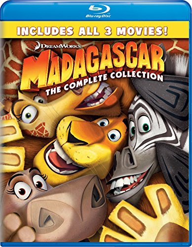 Madagascar: Complete Collection 1-3 [Edizione: Stati Uniti]