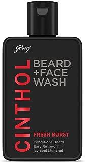Cinthol 2-in-1 Beard Wash + Face Wash – FRESH BURST, 100ml