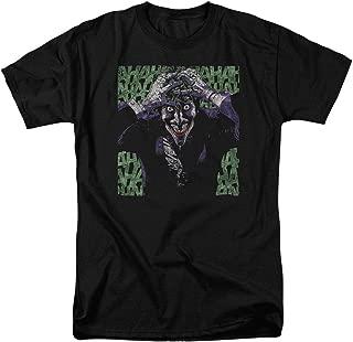 The Joker Laughing DC Comics T Shirt & Stickers