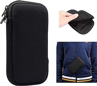 スリーブ ポーチ耐震性ネオプレン カバー ケース 携帯電話バッグ 携帯電話ホルダー ネックストラップ収納袋 Sony Xperia XA Ultra,Xperia 5,Xperia 10, Xperia 1 II,Xperia L4,Xperi...