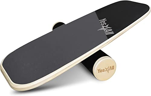 Premium Balance Board Trainer with Adjustable Stoppers Balance Boards for Surfing/Wakesurfing[Yes4All] Picture