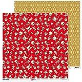 Anita y su mundo Isla del Tesoro Papeles Scrapbooking, Multicolor, 30,5x30,5cm, 5