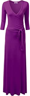 Best wrap waist maxi dress Reviews