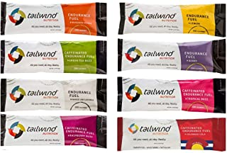 Tailwind Grab-and-Go Endurance Fuel Single Serve Assorted Flavors (Pack of 8) - Hydration Drink Mix with Electrolytes, Car...
