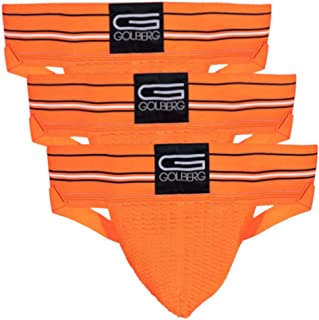 GOLBERG G 男式运动支撑器(3 件装)- 丁字裤内衣 - *弹性