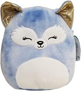 SQUISHMALLOW KellyToys - 12 Inch (30cm) - Melani The Blue Fox with Golden Ears - Sleepy Eyes Squad