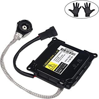 WMPHE HID Headlight Ballast for Lexus,Toyota Prius, Avalon Replaces# 85967-51040, 81107-33761, 81107-12A80, 81107-30D30, DDLT003, KDLT003 -Xenon Headlight Control Unit with Igniter & Power Cable