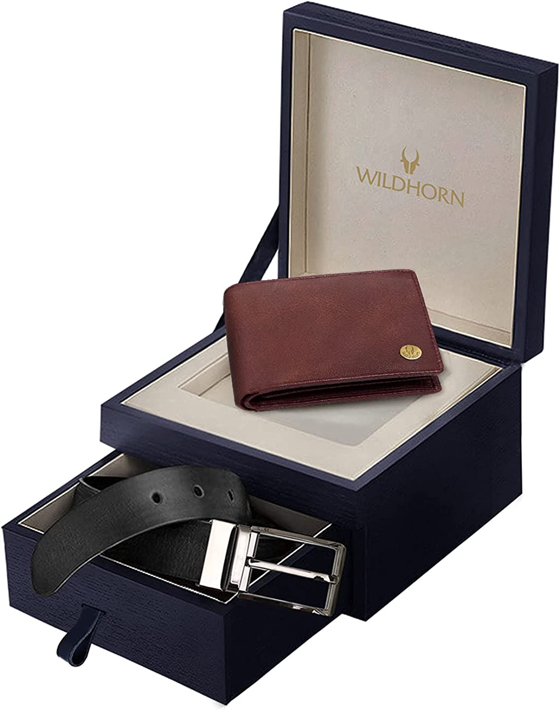 trust WildHorn RFID Protected Genuine Wallet for Men Animer and price revision Leather
