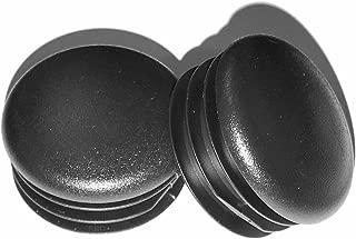 (Pack of 8) - 1 1/8 Round Black Plastic Tubing Plug, 1 1/8 Inch (14-20 Ga - 0.96