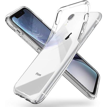 Spigen iPhone XR ケース 6.1インチ 対応 TPU 傷防止 レンズ保護 超薄型 超軽量 Qi充電 ワイヤレス充電 クリア リキッド・クリスタル 064CS24866 (クリスタル ・クリア)