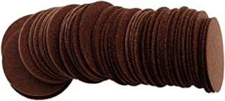 Playfully Ever After 2 Inch Brown 44pc Stiff Felt Circles
