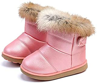 COMFY KIDS Girls Snow Boots Outdoor Children Winter Warm Shoes A88