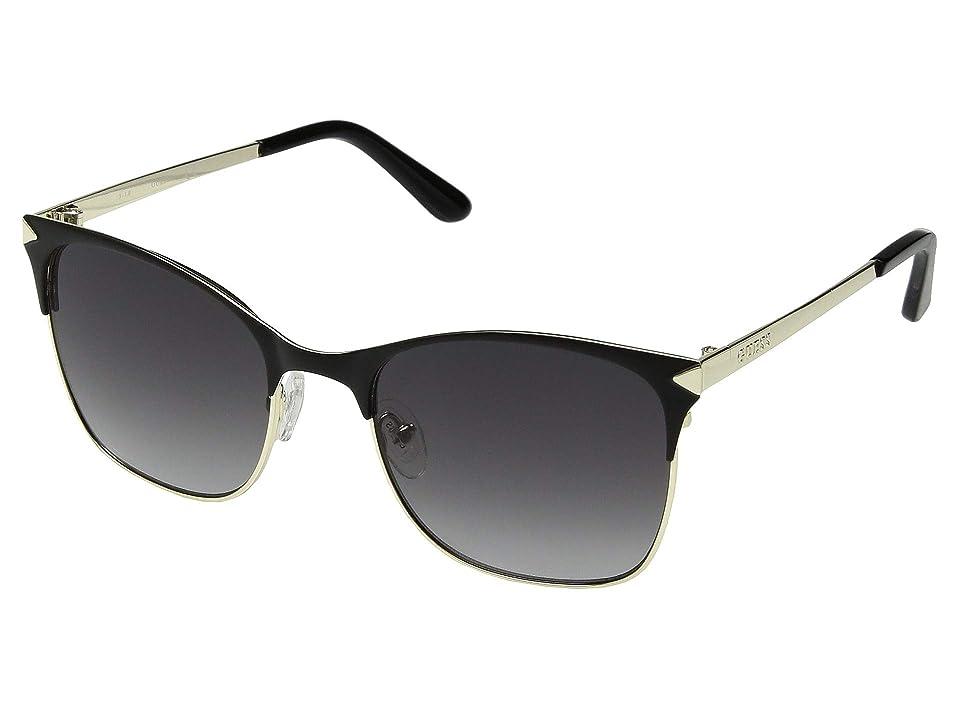 GUESS GU7517 (Matte Black/Gradient Smoke) Fashion Sunglasses