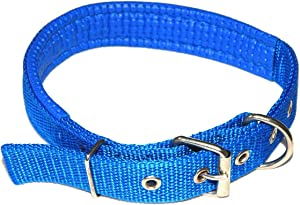 Nylon leather collar for dogs small