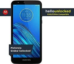 Moto E6 - Unlocked Smartphone - Global Version - 16GB - Starry Black (US Warranty) - Verizon, AT&T, T-Mobile, Sprint, Boost, Cricket, & Metro