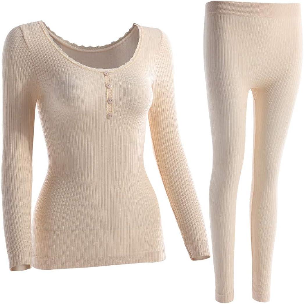Thermal Underwear Women Four Grain of Buckle Seamless Lace Sexy Winter Shaped Women Long Johns