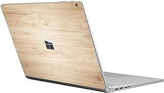 ChasBete Surface Book y 2017 Release Surface Book 2 Skin Decal Skin Grain Protector de vinilo de madera Cover Precisión para Surface Book 1 y 2017 Release Surface Book 2, 13.5inch